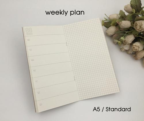 sổ tay theo dõi kế hoạch tuần hiệu quả