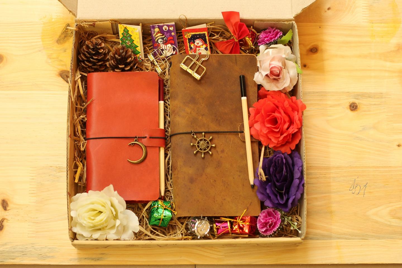 sổ tay da handmade, quà tặng sổ da ý nghĩa