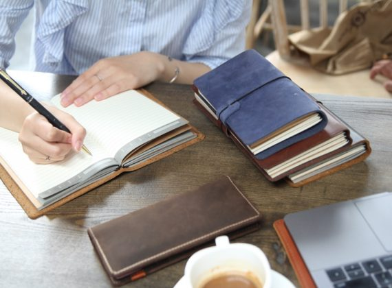 sổ tay da handmade cuốn sổ đặc biệt cho bạn