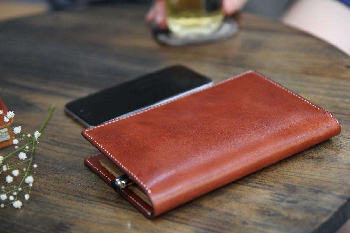sổ tay da bò handmade Passport Notebook - món quà ý nghĩa