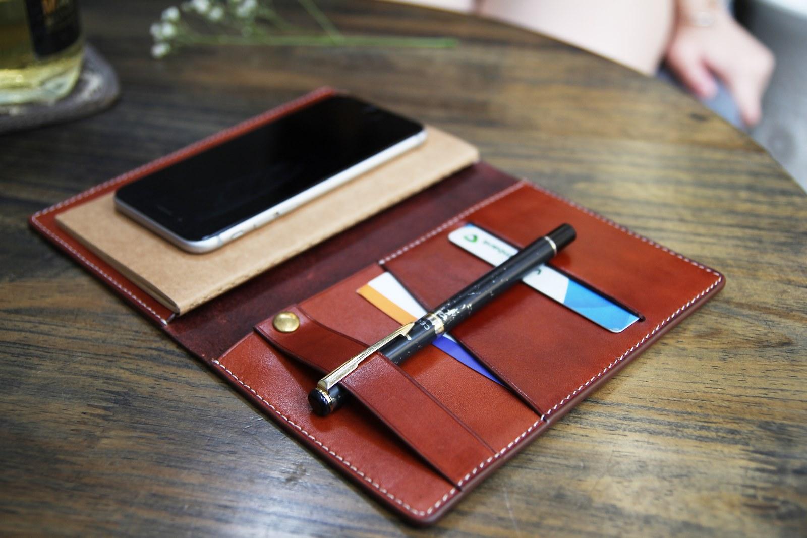 sổ tay da bò handmade Passpoint - quà tặng doanh nghiệp