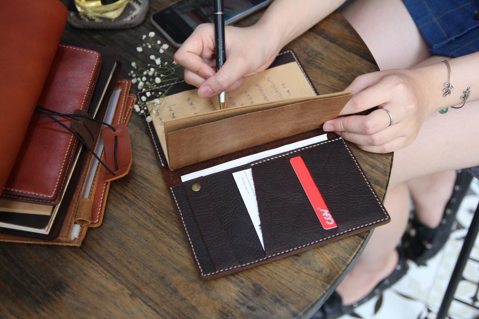 sổ tay da bò handmade Passport Notebook- sự lựa chọn của mọi tầng lớp