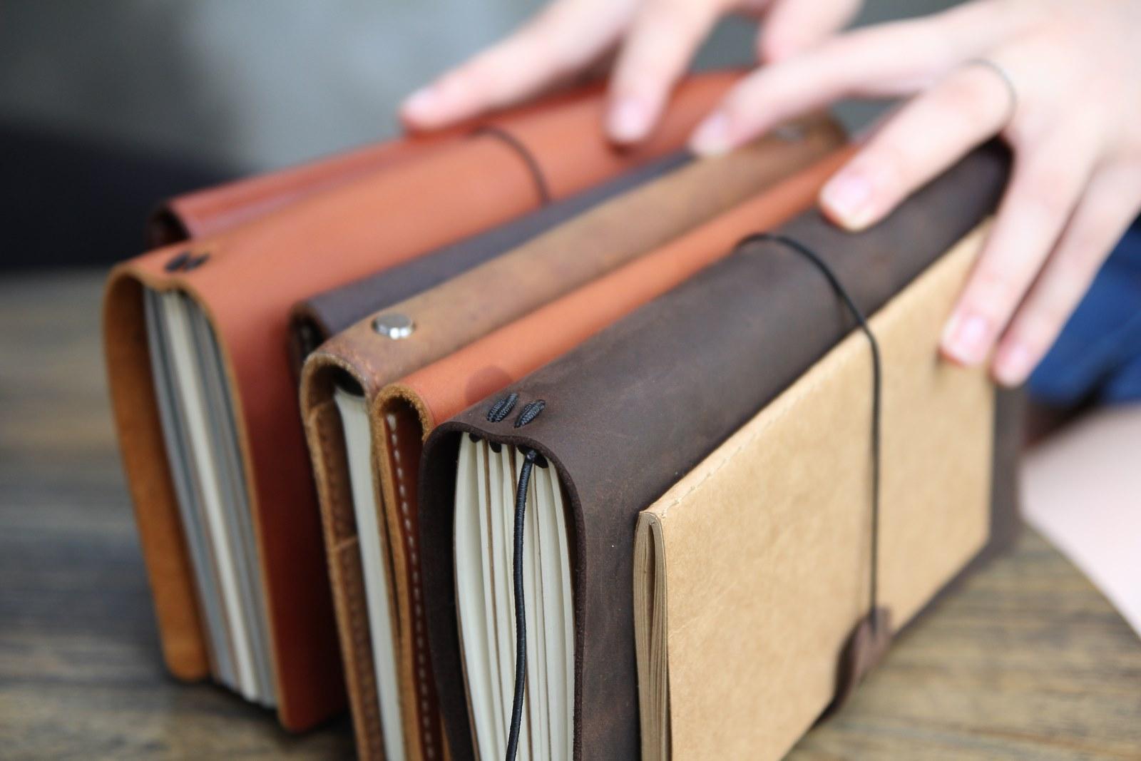 Sổ bìa da Midori Journal Notebook - Quà tặng sổ da đơn giản mà ý nghĩa.