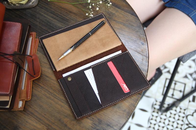 Sổ da Passport NoteBook đẹp đẽ tinh tế