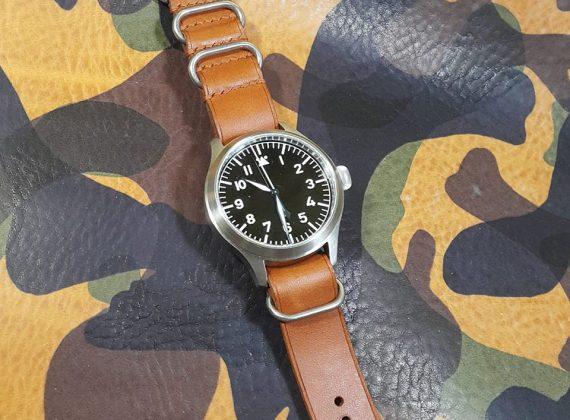 Dây đồng hồ da thật handmade: Thời trang của thời gian.