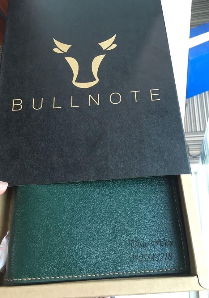 Quà tặng sổ tay da thật cho các thày cô giáo đáng kính của Bullnote.