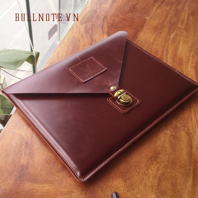 Laptop Leather Case – Bao đựng Laptop da thật. Bảo hành: 3 năm
